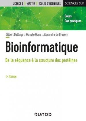 Bioinformatique - Dunod - 9782100815159 -