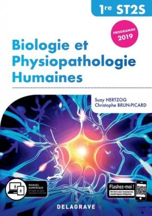 Biologie et physiopathologie humaines 1re ST2S - Delagrave - 9782206103464 -