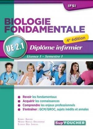 Biologie fondamentale - UE 2.1 - foucher - 9782216134069 -
