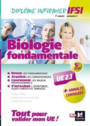 Biologie fondamentale UE 2.1 - Semestre 1 - foucher - 9782216149131 -