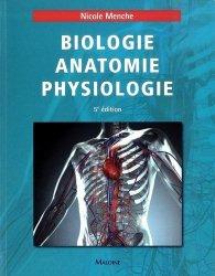 Biologie anatomie physiologie - maloine - 9782224033422 -