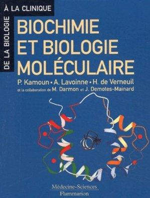 Biochimie et biologie moléculaire - flammarion - 9782257101211 -
