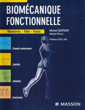 Biomécanique fonctionnelle  Membres-Tête-Tronc - elsevier / masson - 9782294088773 -