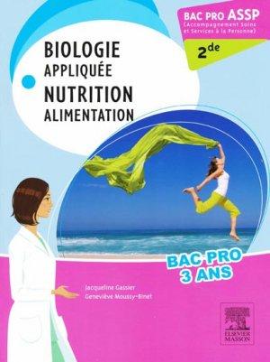 Biologie appliquée Nutrition Alimentation - masson - 9782294714313 -