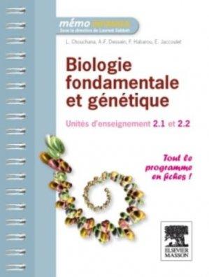 Biologie fondamentale et génétique - elsevier / masson - 9782294715969 -