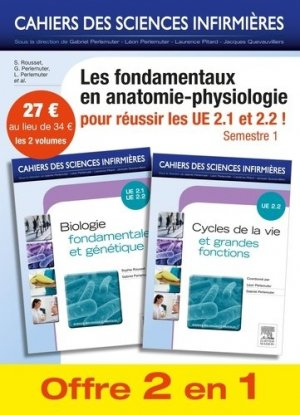 Biologie fondamentale + Cycles de la vie et grandes fonctions - elsevier / masson - 9782294745232 -