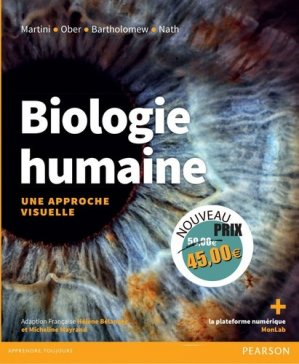 Biologie humaine : une approche visuelle - erpi / pearson - 9782326002128 -