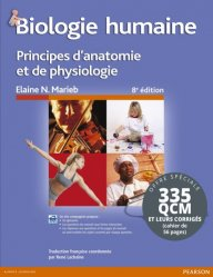 Biologie humaine + QCM et leurs corrigés - pearson - 9782326002296 -