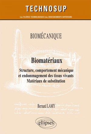 Biomécanique, biomatériaux - ellipses - 9782340024335