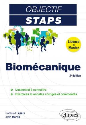 Biomécanique - ellipses - 9782340025417