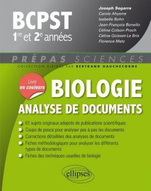 Biologie - ellipses - 9782340028401 -