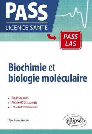 Biochimie et biologie moléculaire en PASS - ellipses - 9782340040908 -