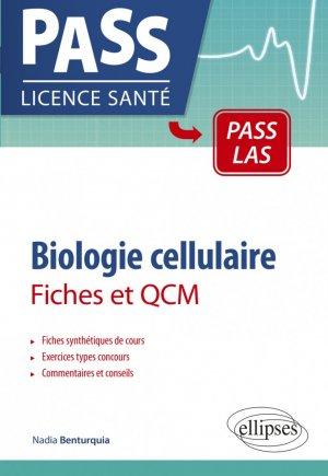 Biologie cellulaire en PASS et LAS - ellipses - 9782340041394 -
