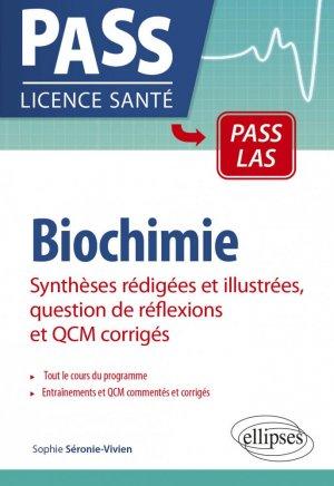 Biochimie - QCM corrigés - ellipses - 9782340045712 -
