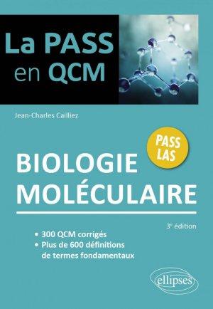 Biologie moléculaire - Ellipses - 9782340058026 -