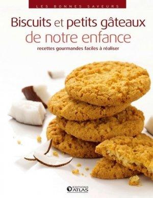 Biscuits et petits gâteaux de notre enfance - Glénat - 9782344000298 -
