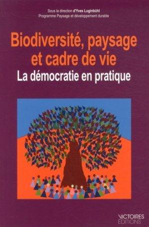 Biodiversité, paysage et cadre de vie - victoires - 9782351132388 -