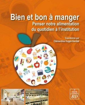 Bien et bon à manger - editions universitaires de dijon - 9782364412859 -