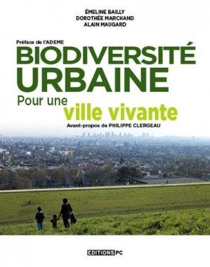Biodiversité urbaine - pc editions - 9782378190064 -