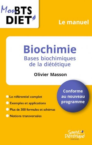 Biochimie le manuel - sante dietetique - 9782491648077 -