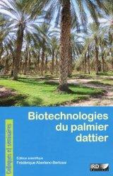 Biotechnologies du palmier dattier - ird - 9782709916912 -