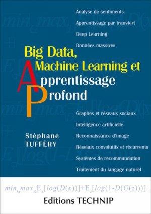 Big data, machine learning et apprentissage profond - technip - 9782710811886