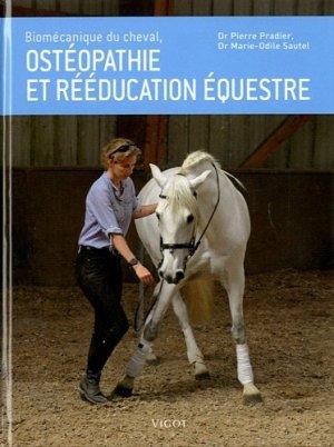 Biomécanique du cheval, ostéopathie et rééducation équestre - vigot - 9782711421541 -