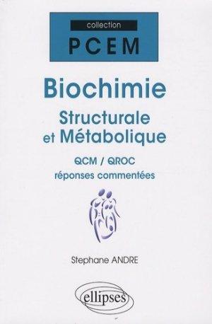 Biochimie - ellipses - 9782729837235 -