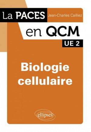 Biologie cellulaire UE2 - ellipses - 9782729866525 -