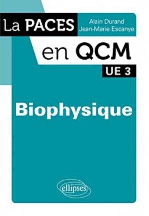 Biophysique - ellipses - 9782729870850 -
