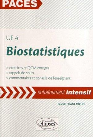 Biostatistiques UE 4 - ellipses - 9782729876326 -