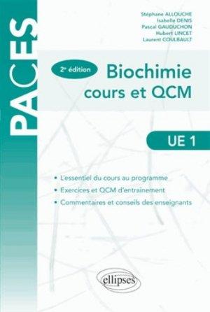 Biochimie UE1 - ellipses - 9782729881306 -