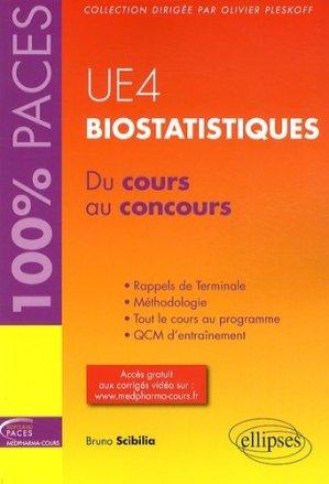 Biostatistiques UE4 - ellipses - 9782729883645 - mathématique, biostatistique