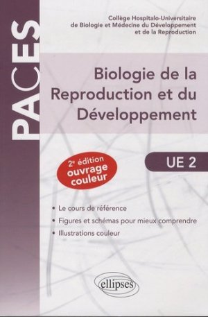 Biologie de la Reproduction et du développement UE2 - ellipses - 9782729885342 -
