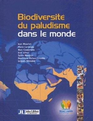 Biodiversité du paludisme dans le monde - john libbey eurotext - 9782742005284 -