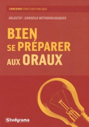 Bien se préparer aux oraux - Studyrama - 9782759008766 -