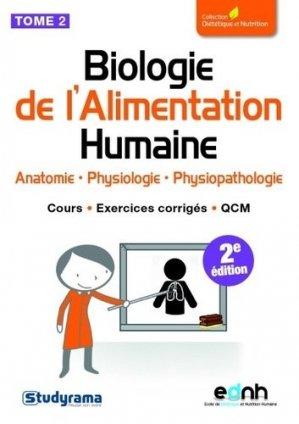 Biologie de l'Alimentation Humaine - studyrama - 9782759030668 -