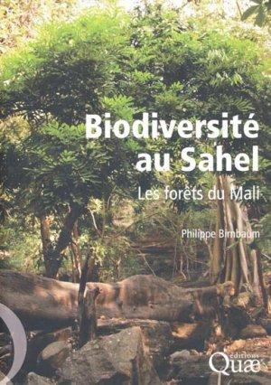 Biodiversité au Sahel - quae  - 9782759218110 -