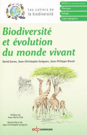 Biodiversité et évolution du monde vivant - edp sciences - 9782759808380 -