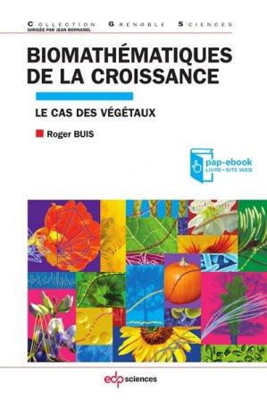Biomathématiques de la croissance - edp sciences - 9782759817788