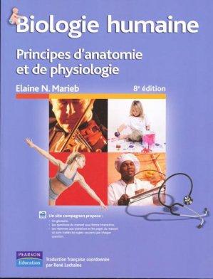 Biologie humaine - pearson - 9782761327275 -