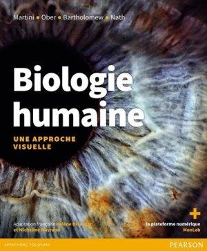 Biologie humaine : une approche visuelle - pearson - 9782761372558 -