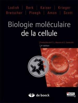 Biologie moléculaire de la cellule - de boeck superieur - 9782804184711 -