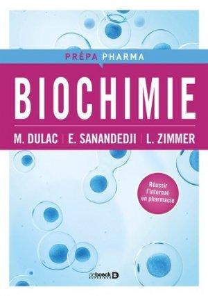 Biochimie - de boeck superieur - 9782807306875 -