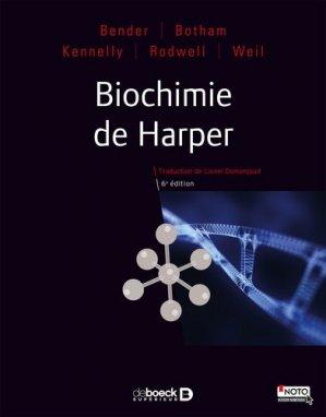 Biochimie de Harper-de boeck superieur-9782807307247