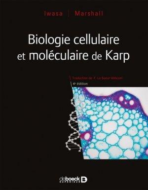 Biologie cellulaire et moléculaire de Karp - de boeck superieur - 9782807308015 -