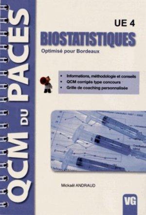Biostatistiques UE 4 - vernazobres grego - 9782818303696 -