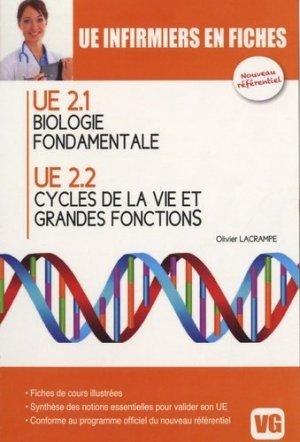 Biologie fondamentale UE 2.1 - Cycles de la vie et grandes fonctions UE 2.2 - vernazobres grego - 9782818304334