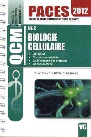 Biologie cellulaire  UE2 - vernazobres grego - 9782818306116
