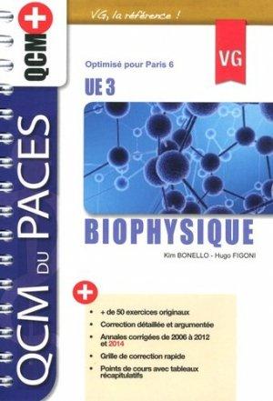 Biophysique UE3 - vernazobres grego - 9782818312094 -
